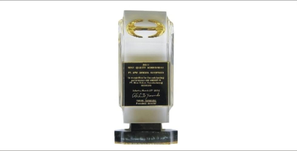 Award from Hino for